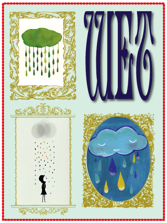 Rainy day etsy art prints
