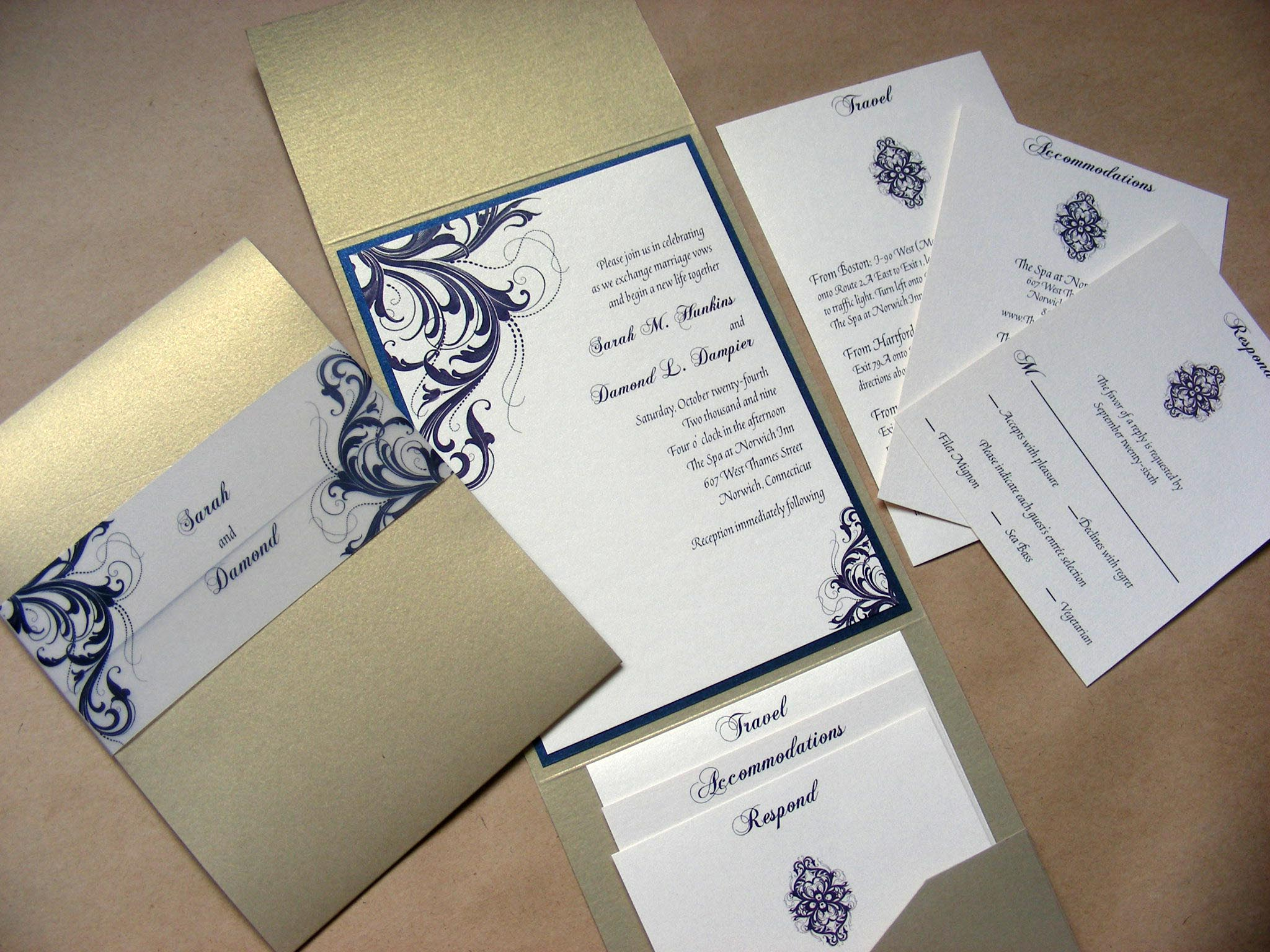 Curiouser and Curiouser: New Wedding Invitations and a Brief ...