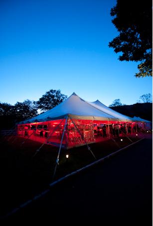 Tent twilight