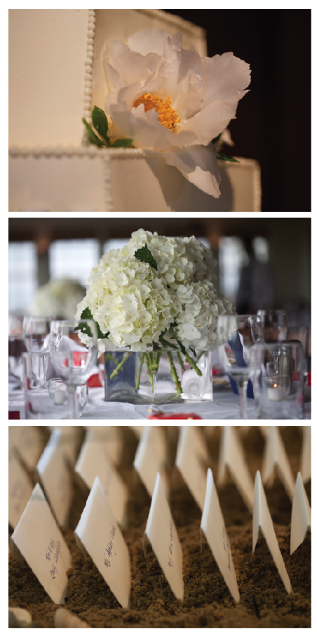 Nantucket wedding details screenshot