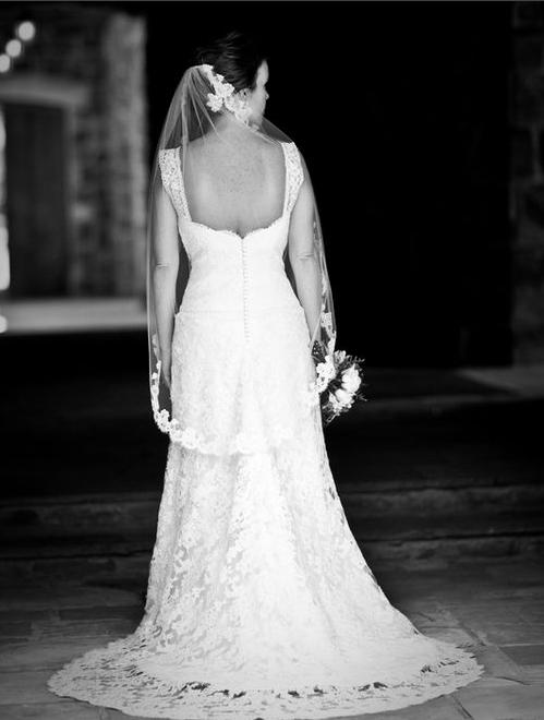 Bride back